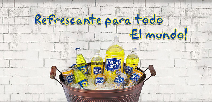 Refresco Inca Kola